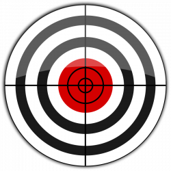 Snipers clipart shooting target