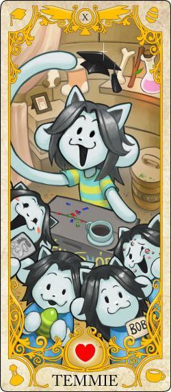 Tarotcards clipart animated