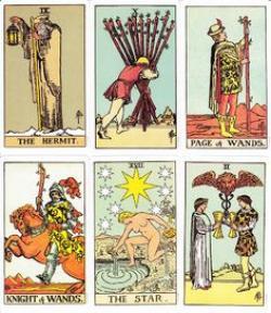 Tarotcards clipart classic