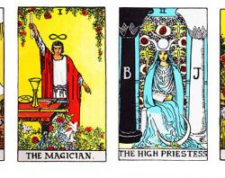 Tarot Cards clipart classic