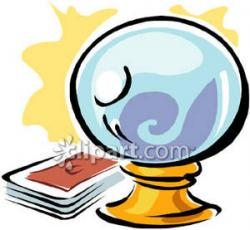 Tarot Cards clipart crystal ball