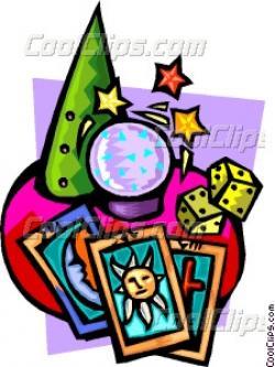 Tarotcards clipart crystal ball