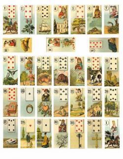 Tarotcards clipart deck card