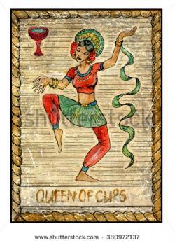 Tarot Cards clipart hand drawn