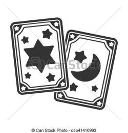 Tarotcards clipart magic