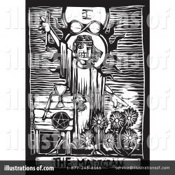 Tarotcards clipart illustrated