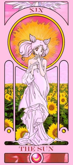 Tarotcards clipart sun and moon