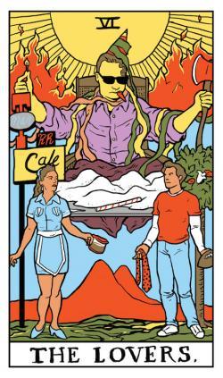 Tarotcards clipart occult