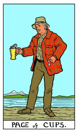 Tarot Cards clipart person