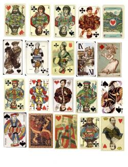 Tarot clipart poker card