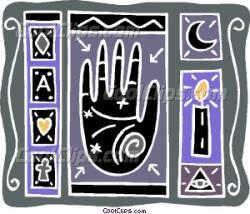 Tarotcards clipart psychic
