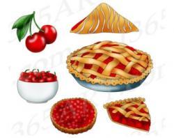 Tart clipart blueberry pie