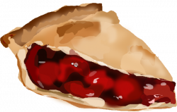 Pies clipart cherry pie