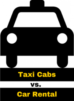 Taxi clipart car rental