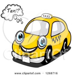 Taxi clipart cute