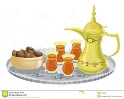 Tea clipart arab