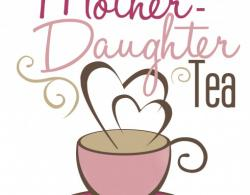 Teacup clipart mother daughter tea