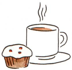 Pastry clipart coffee morning