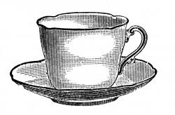Tea Party clipart cup saucer