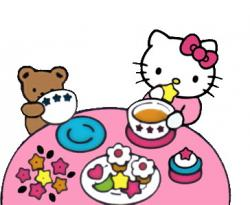 Tea Party clipart kitty party