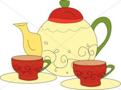 Tea Party clipart morning tea