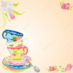 Tea Party clipart refreshments