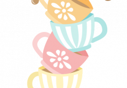 Tea Party clipart stacked