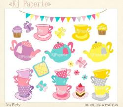 Tea Party clipart tea cookie