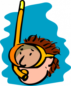 Diver clipart water sport