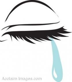 Sadness clipart tear