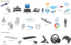Technology clipart communication device