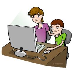 Cyber clipart internet safety
