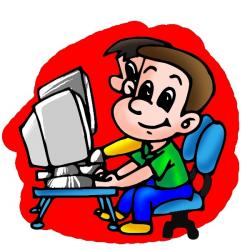 Cyber clipart for kid