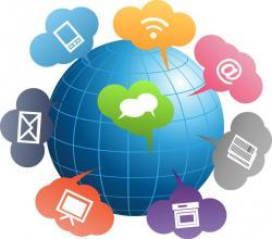 Technology clipart means communication