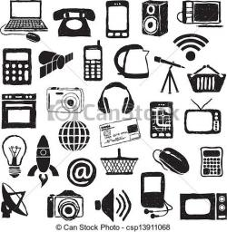 Technology clipart modern technology