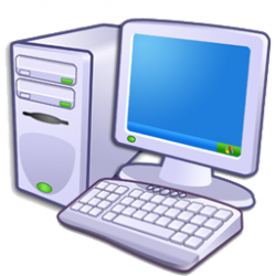 Technology clipart pc user