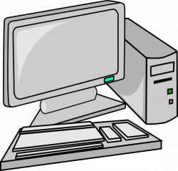 Technology clipart personal computer