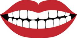 Grin clipart toothy