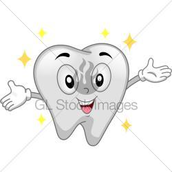 Teeth clipart shiny tooth