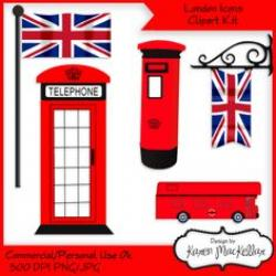 Phone Booth clipart england