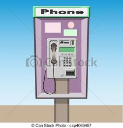 Telephone Booth clipart payphone