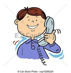 Phone clipart telephone conversation