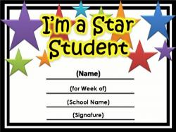 Larger clipart student award