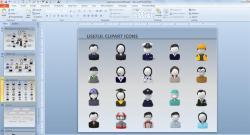 Microsoft clipart organization