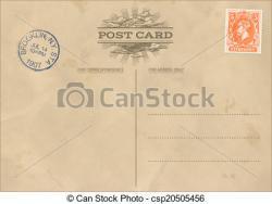 Postcard clipart vintage