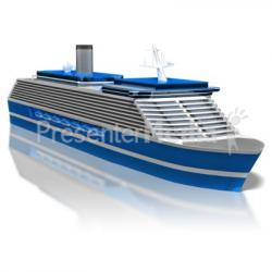 Cruise clipart simple ship