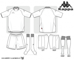 Drawn shirt soccer jersey