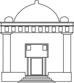 Synagogue clipart mandir