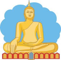 Thailand clipart buddhism