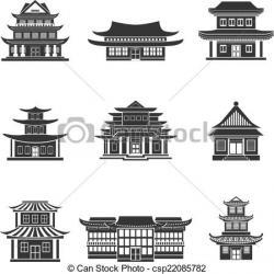 Oriental clipart building